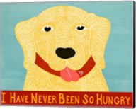 I Have Never Been So Hungry Yel Banner Fine-Art Print