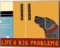 Life's Big Problems Banner Fine-Art Print