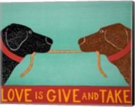 Love Is Black Choc Fine-Art Print