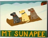 Mt. Sunapee Sled Dogs Template Fine-Art Print