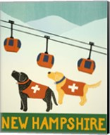 New Hampshire Ski Patrol Fine-Art Print