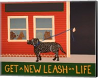 New Leash On Life Open Text Fine-Art Print