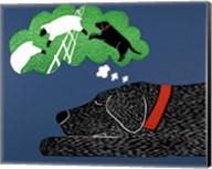 Sleep Black Fine-Art Print