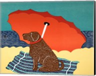 The Lifeguard Chocolate Fine-Art Print