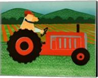 The Tractor Fine-Art Print