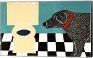 Water Bowl Bad Dog Fine-Art Print