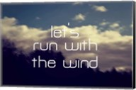Run With The Wind Fine-Art Print
