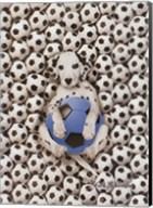 Caff-Fur-Ino Soccer Pup Fine-Art Print