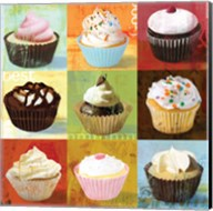 Cupcake 9-Patch Fine-Art Print