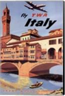 Fly To Italy Fine-Art Print