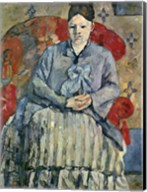 Madame Cezanne (red chair) Fine-Art Print