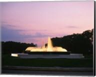 Mecom Fountain, Houston, Texas Fine-Art Print