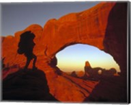 Mountaineering Arches National Park, UT Fine-Art Print