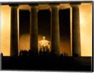 Lincoln Memorial, Washington DC (detail) Fine-Art Print
