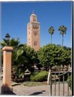 Koutoubia Minaret built by Yacoub el Mansour, Marrakesh, Morocco Fine-Art Print