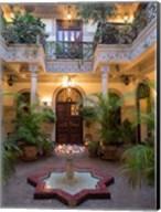 Villa des Orangers Hotel, Marrakesh, Morocco Fine-Art Print