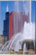 Buckingham Fountain, Chicago, Illinois Fine-Art Print