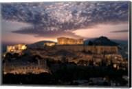 Ruins of a Temple, Athens, Attica, Greece Fine-Art Print