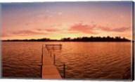 Lake Minnetonka Pier, Minnesota Fine-Art Print