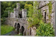 Ballysaggartmore Towers, Lismore, County Waterford, Ireland Fine-Art Print