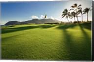 Golf Course, Kauai Lagoons, Kauai, Hawaii Fine-Art Print