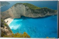Shipwreck Bay, Zakynthos, Ionian Islands, Greece Fine-Art Print