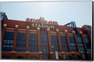 Facade of the Lucas Oil Stadium, Indianapolis, Indiana Fine-Art Print