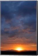 Cloudy Sunset Sky, Ndutu, Ngorongoro Conservation Area, Tanzania Fine-Art Print