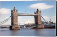 Tower Bridge, Thames River, London, England Fine-Art Print