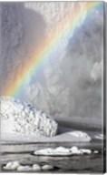 Rainbow over Skogarfoss Waterfall Iceland Fine-Art Print