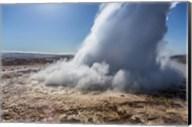Strokkur Geyser Erupting, Iceland Fine-Art Print