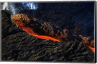 Volcano Eruption, Bardarbunga Volcano, Iceland Fine-Art Print