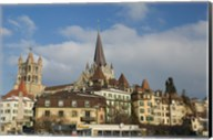 Cathedral, Lausanne, Switzerland Fine-Art Print