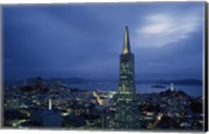 Transamerica Pyramid, Coit Tower, San Francisco, California Fine-Art Print