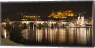 Carl Theodor Bridge, Heidelberg, Baden-Wurttemberg, Germany Fine-Art Print