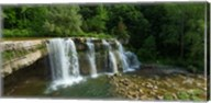 Ludlowville Falls on Salmon Creek, Finger Lakes, New York State Fine-Art Print