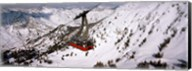 Ride over Snowbird Ski Resort, Utah Fine-Art Print
