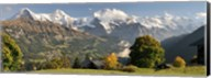 Lauterbrunnen Valley with Mt Eiger, Switzerland Fine-Art Print