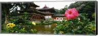 Buddhist Temple, Byodo-in Temple, Koolau Range, Oahu, Hawaii Fine-Art Print