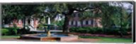 Columbia Square Historic District, Savannah, GA Fine-Art Print
