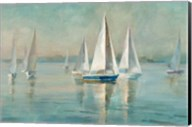 Sailboats at Sunrise Fine-Art Print