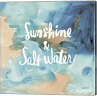 Coastal Breeze Quotes I Fine-Art Print