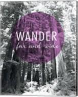 Wander Far and Wide Fine-Art Print
