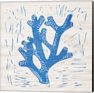 Sea Creature Coral Blue Fine-Art Print