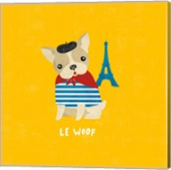 Good Dogs French Bulldog Bright Fine-Art Print
