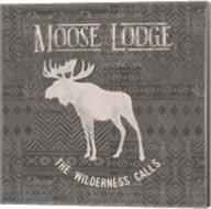 Soft Lodge IV Dark Fine-Art Print