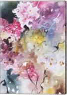 Blooms Aquas III Fine-Art Print