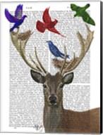 Deer & Birds Nests Fine-Art Print