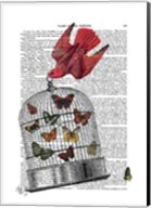 Flying Birdcage Fine-Art Print
