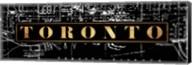 Toronto St Maps Fine-Art Print